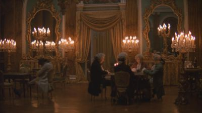 Still from Barry Lyndon (1975) that has been tagged with: candlelight