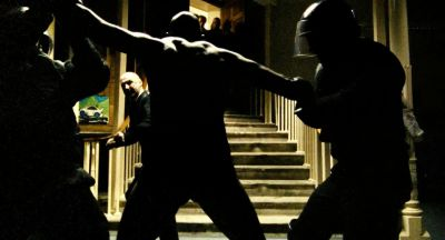 Still from Bronson (2008) that has been tagged with: fight