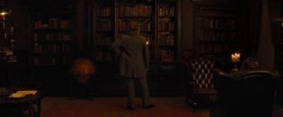 Still from Django Unchained (2012) that has been tagged with: candlelight