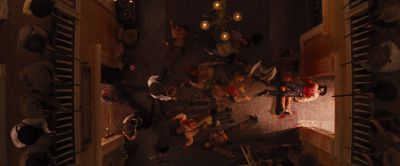 Still from Django Unchained (2012) that has been tagged with: fight
