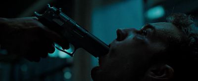 Still from Fight Club (1999) that has been tagged with: gun