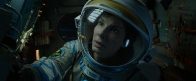 Still from Gravity (2013) that has been tagged with: helmet