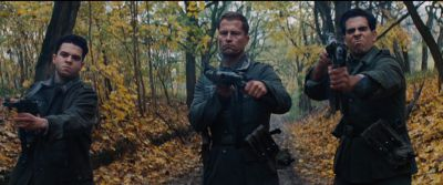 Still from Inglourious Basterds (2009) that has been tagged with: shooting