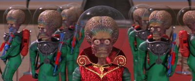 Still from Mars Attacks! (1996) that has been tagged with: group-shot