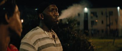 Still from Moonlight (2016) that has been tagged with: smoking