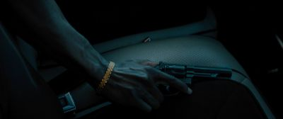 Still from Moonlight (2016) that has been tagged with: gun