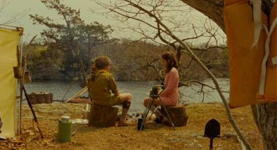 Still from Moonrise Kingdom (2012) that has been tagged with: lake