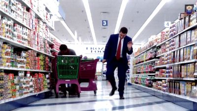 Still from Punch-Drunk Love (1999) that has been tagged with: store