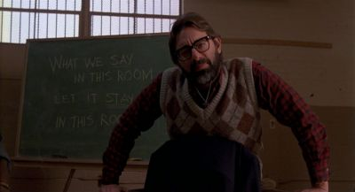 Still from Raising Arizona (1987) that has been tagged with: classroom