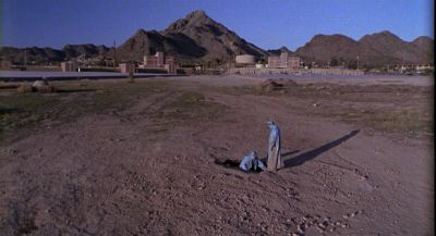 Still from Raising Arizona (1987) that has been tagged with: prison