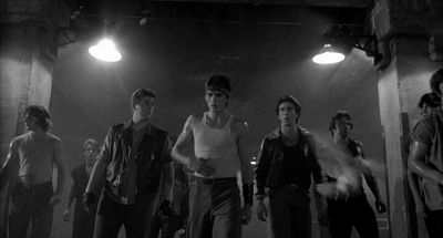 Still from Rumble Fish (1983) that has been tagged with: group-shot
