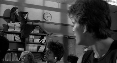Still from Rumble Fish (1983) that has been tagged with: classroom