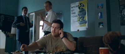Still from Shaun Of The Dead (2004) that has been tagged with: smoking