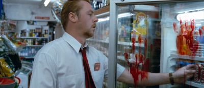 Still from Shaun Of The Dead (2004) that has been tagged with: store