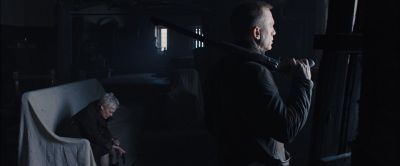 Still from Skyfall (2012) that has been tagged with: gun
