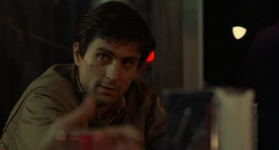 Still from Taxi Driver (1976) that has been tagged with: diner