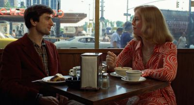Still from Taxi Driver (1976) that has been tagged with: restaurant