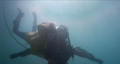 Still from The Diving Bell and the Butterfly (2007) that has been tagged with: underwater