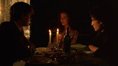 Still from The Dreamers (2003) that has been tagged with: candlelight