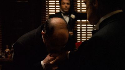 Still from The Godfather (1972) that has been tagged with: blinds
