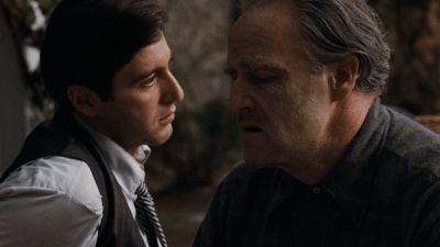 Still from The Godfather (1972) that has been tagged with: medium close-up
