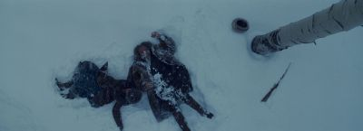 Still from The Hateful Eight (2015) that has been tagged with: gun
