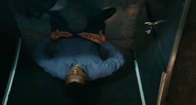 Still from The Limits of Control (2009) that has been tagged with: top-down