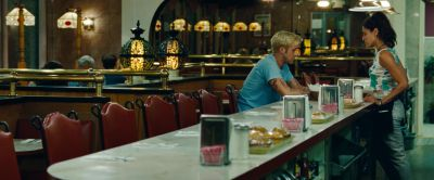 Still from The Place Beyond The Pines (2012) that has been tagged with: diner
