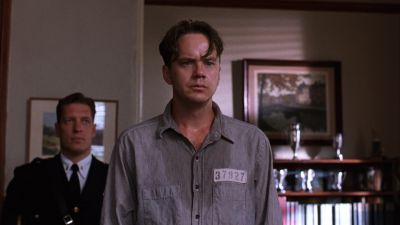 Still from The Shawshank Redemption (1994) that has been tagged with: blinds