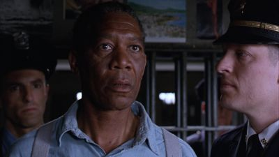 Still from The Shawshank Redemption (1994) that has been tagged with: prison cell