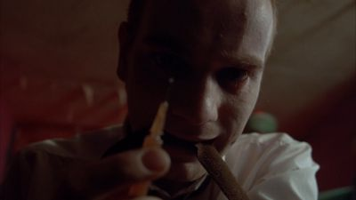 Still from Trainspotting (1996) that has been tagged with: drugs