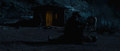 Still from True Grit (2007) that has been tagged with: gun